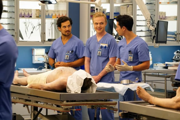 Nervous Laughter - Grey's Anatomy Season 12 Episode 1