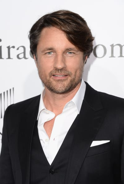 Martin Henderson arrives at the Premiere