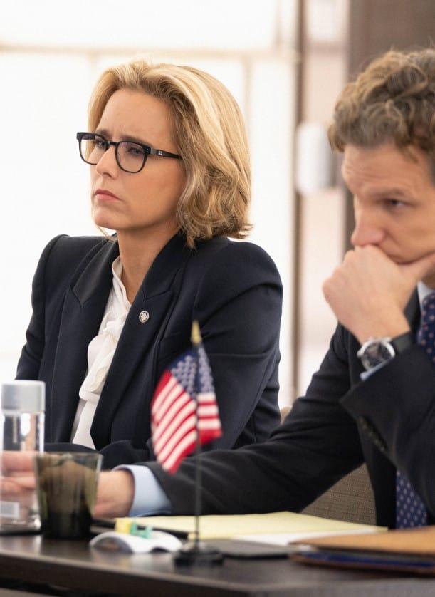 (TALL) Bess and Jay At Conference - Madam Secretary Season 5 Episode 6