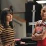 Rachel and Santana