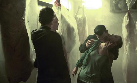 Pushy Salesman - The Vampire Diaries Season 8 Episode 1