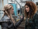 Convincing Luna - The 100 Season 3 Episode 14