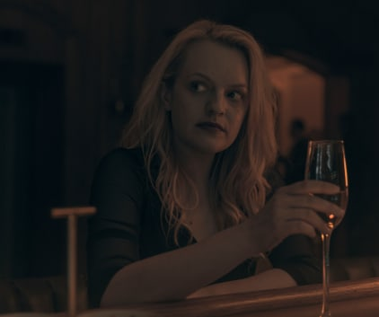 The Handmaid's Tale - June Drinking a Glass of Wine