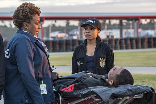 Checking out the victim - NCIS: New Orleans Season 3 Episode 9