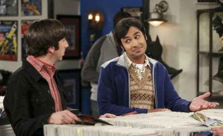 Howard and Raj Buy Comic Books - The Big Bang Theory Season 10 Episode 24