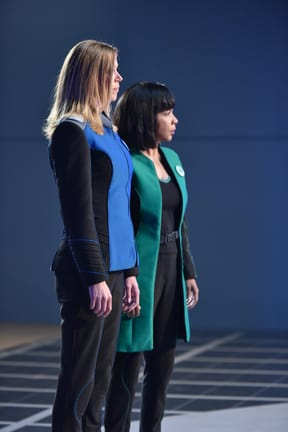 Checking In - The Orville Season 1 Episode 10