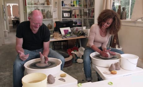 Reconnecting Through Pottery - The Real Housewives of Potomac