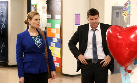 Booth and Brennan Find a Memorial - Bones Season 10 Episode 12