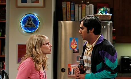 Bernadette and Raj