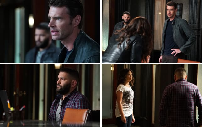 Jake is back scandal season 5 episode 2