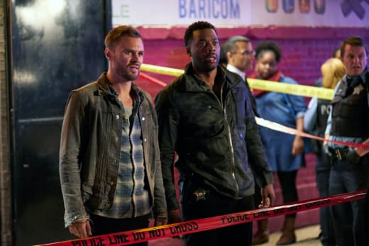 Atwater and Ruzek - Chicago PD Season 5 Episode 4