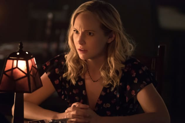 Caroline Agrees! - The Vampire Diaries Season 8 Episode 11