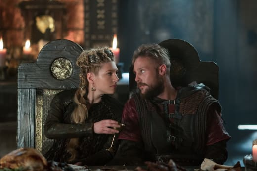 Lagertha and Ubbe Plotting - Vikings Season 5 Episode 4