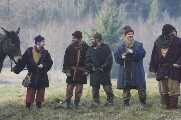 The Dwarves Look Happy