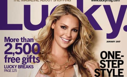 Katherine Heigl is a Lucky (Cover) Girl