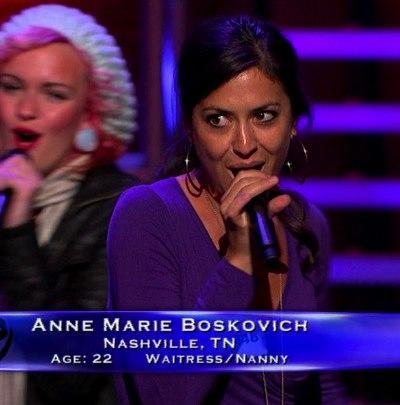 Ann Marie Boskovich Audition Pic