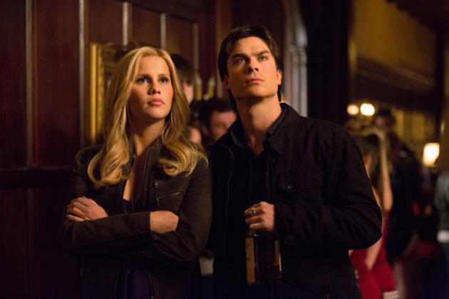 Rebekah and Damon