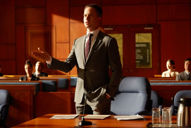 Mike in Court