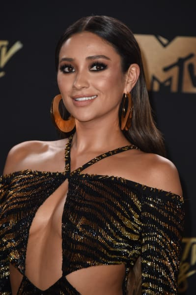 Shay Mitchell Attends Awards Show
