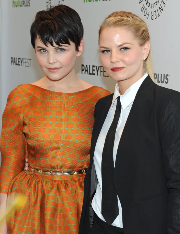 ginnifer goodwin and jennifer morrison at paleyfest tv