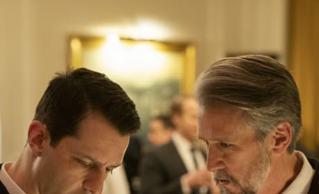 Putting Their Heads Together Tall - Succession Season 2 Episode 2