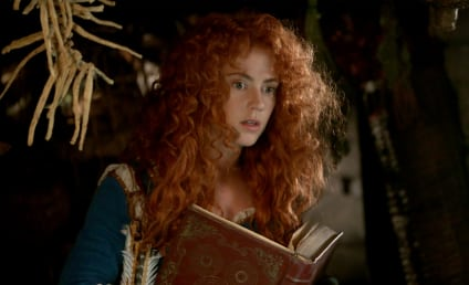 Once Upon a Time Preview: Amy Manson on Merida's Future, Fabulous Hair & More!