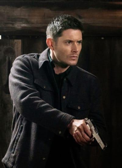 Dean on Alert - Supernatural Season 15 Episode 12