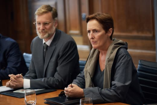 Fiona Shaw Takes Command - Killing Eve Season 1 Episode 1