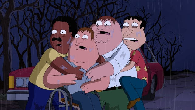 Evil soap family guy