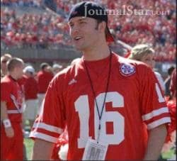 Scott Porter at Nebraska Game
