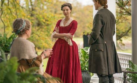 Hold Back, Claire - Outlander Season 4 Episode 2