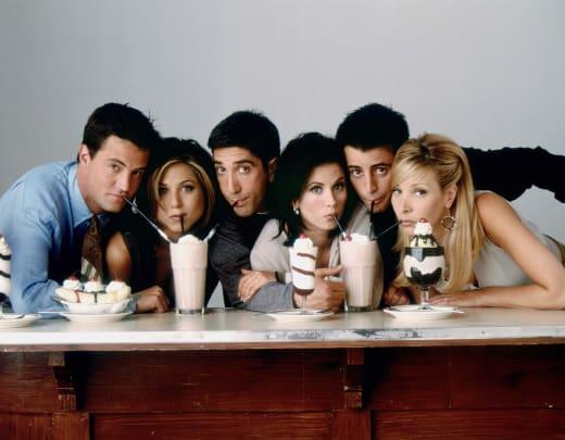 The Iconic Milkshakes - Friends