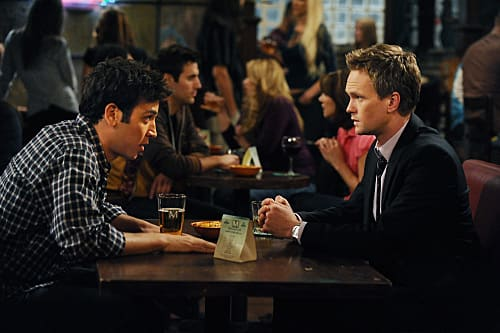 Ted Offers Barney Help
