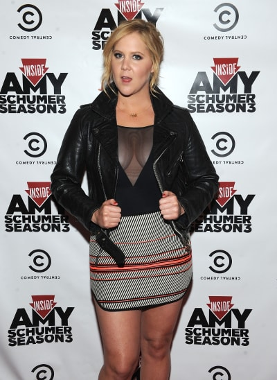 Amy Schumer Promotes Her Show