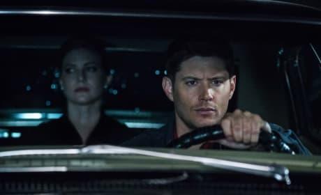 Toni in the Impala - Supernatural Season 12 Episode 21