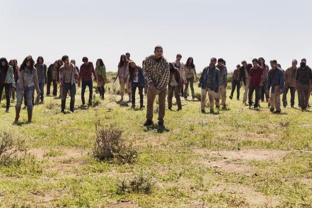 The Horde - Fear the Walking Dead Season 2 Episode 8