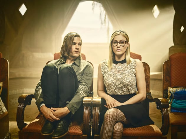 King Quentin and Queen Alice - The Magicians