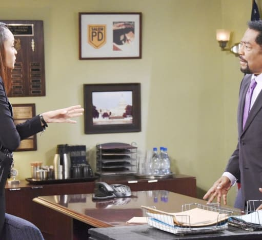 Trying to Reason With Abe (Tall) - Days of Our Lives.