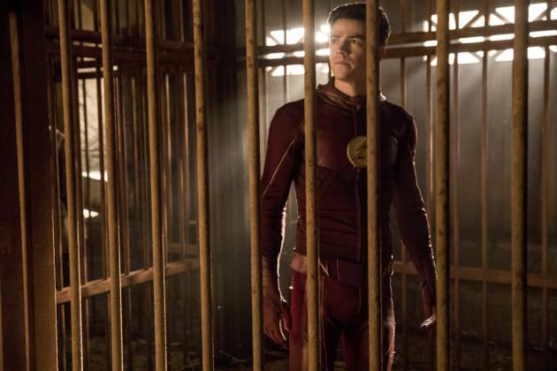 Unmasked Flash - The Flash Season 3 Episode 13