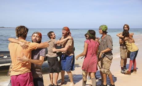 The Tribe Reunites - Survivor