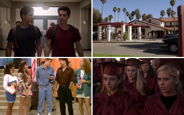 Beacon hills high school teen wolf