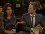 Robin and Barney at the Bar