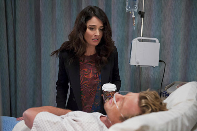 Jane in Hospital Bed