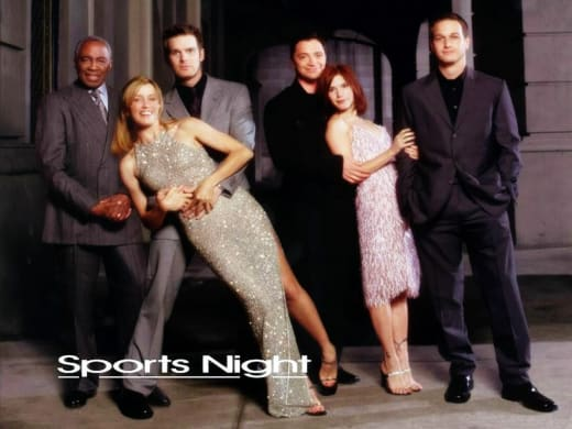 Sports Night Poster