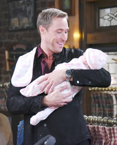 Rex and His Baby - Days of Our Lives