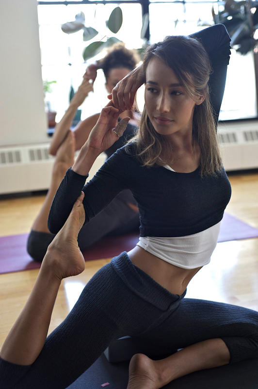 Nikita in Yoga