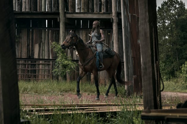 Grand Entrance - The Walking Dead Season 9 Episode 2