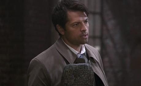 Castiel has the tablet - Supernatural Season 11 Episode 6