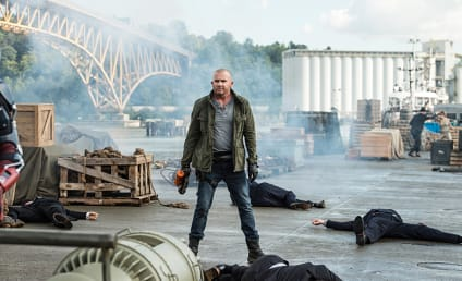 Legends of Tomorrow Boss Responds to Dominic Purcell Exit