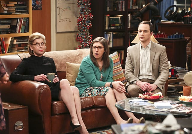 Awkward family visit the big bang theory